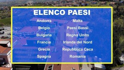Coronavirus 33 nuovi casi a San Marino; aggiornato l'elenco dei Paesi a rischio