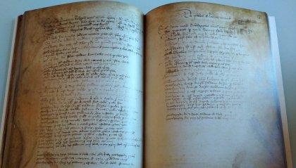 Una copia cartacea del Decimario di Leale Malatesta donata alla Biblioteca Comunale di San Clemente