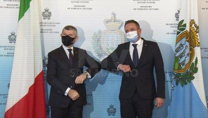 Visita a San Marino del sottosegretario Scalfarotto: al centro i dossier aperti tra i due Paesi