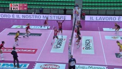 Serie A1: Cuneo-Brescia e Perugia-Busto Arsizio aprono il programma dei recuperi