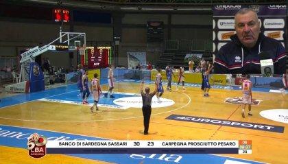 """VL Pesaro, Repesa: """"Sassari è l'avversario che conosciamo meglio"""""""