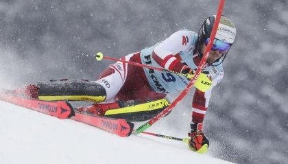 """Coppa del Mondo, la """"prima"""" di Feller: suo lo Slalom di Flachau"""