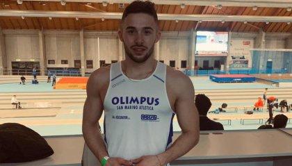 Atletica: Francesco Sansovini da record nei 60 metri