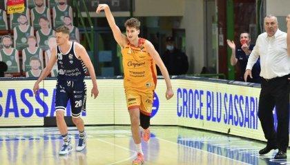 Pesaro esce sconfitta da Sassari: il Banco di Sardegna vince 99-74