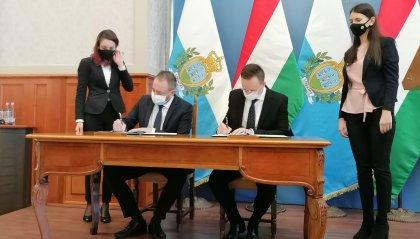 Visita ufficiale in Ungheria del Segretario di Stato per gli Affari Esteri Luca Beccari