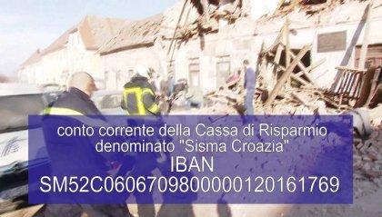Terremoto in Croazia: attivato un conto corrente a sostegno della popolazione