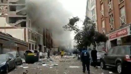 Madrid: forte esplosione, forse per una fuga di gas. 2 morti 8 feriti