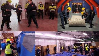 Protezione Civile: mattinata di esercitazione per i volontari