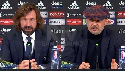 """Pirlo: """"Ora dipende da noi. Mihajlovic: """"La Juve ha meritato la vittoria"""""""