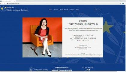 Nomine: la greca Despina Chatzivassiliou - Tsolvilis è la nuova Segretaria Generale APCE
