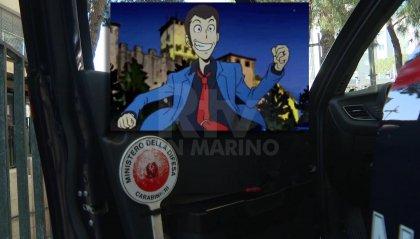 Voleva vivere come Lupin, ladro arrestato a Rimini