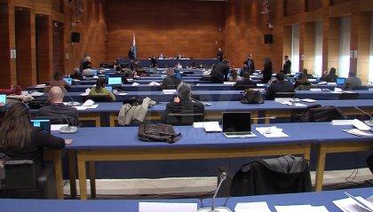 L'aula ha preso atto della nomina dei giudici d'appello Pierfelici e Di Bona e dei Commissari della Legge Santoni e Beccari