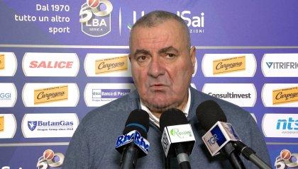 VL Pesaro: il coach Repesa è positivo al Covid