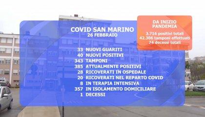Covid: un anno fa il primo caso a San Marino, in territorio 1 nuovo decesso e 40 contagi