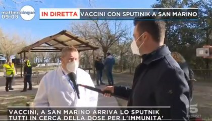 San Marino, iniziata la vaccinazione degli over 75. Continua l'interesse dei media italiani