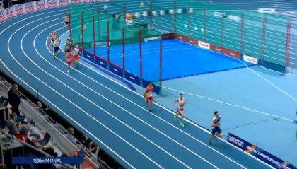 Atletica, Europei Indoor: Ingebrigtsen oro nei 1500m (con un brivido)