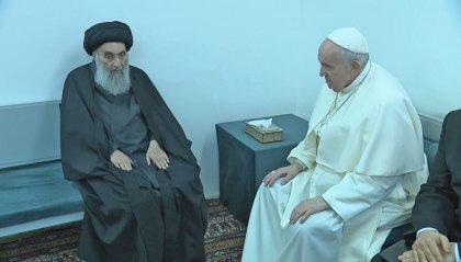 Papa: storico incontro con l'ayatollah Al-Sistani