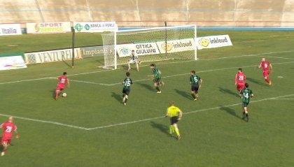 """Il Forlì ferma la capolista Aglianese: 0-0 al """"Morgagni"""""""