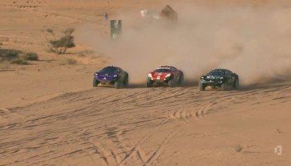 Extreme E, Arabia Saudita: il team Rosberg batte quello di Hamilton