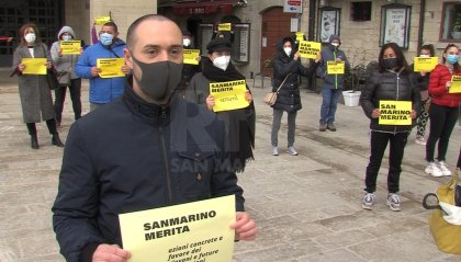 """""""San Marino Merita"""": manifestazione pacifica in Piazza della Libertà"""