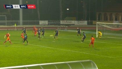 Imolese – Ravenna 0-2 colpo esterno giallorosso nel derby che riapre tutto