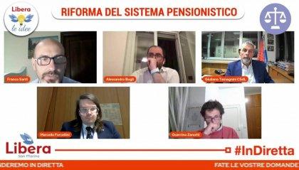 Riforma pensioni, focus di Libera. Forcellini (ISS): oltre 50 milioni di disavanzo nel 2021