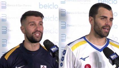 Finale Coppa Titano, le parole di Errico e Simoncini