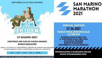 San Marino Ekiden Marathon &  San Marino Marathon