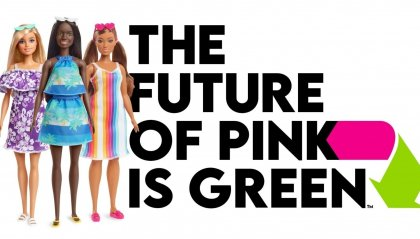 """Barbie: """"The Future of Pink is Green"""""""
