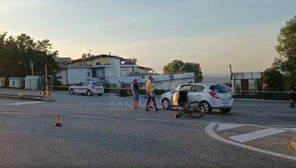 Scontro Domagnano: trasferita al Bufalini la ciclista sammarinese, non è in pericolo di vita