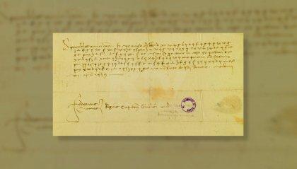 """Lettera cifrata di Federico da Montefeltro inviata al Titano. Parisi: """"L'arte di nascondere messaggi a terzi tipica del periodo rinascimentale"""""""
