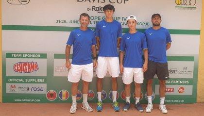 Coppa Davis: San Marino avanti 2-0 contro Kosovo
