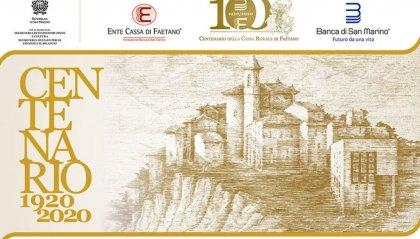 La Cassa Rurale di Faetano festeggia 100 anni