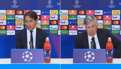 """Inzaghi: """"Dispiace per i tifosi, non meritavamo di perdere"""". Ancelotti: """"Abbiamo saputo soffrire, vittoria importante"""""""