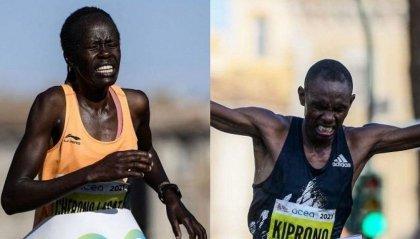 Maratona di Roma al keniano Kiprono