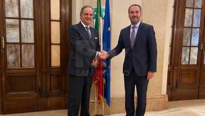 Informazione: si profila l'ipotesi di sottoscrizione di un Protocollo d'Intesa fra Italia e San Marino