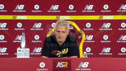 """Roma,  Mourinho: """"Con l'Udinese Veretout-Cristante a centrocampo"""""""