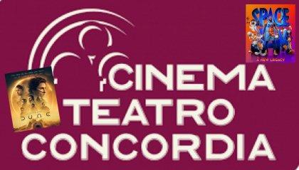 Il Cinema Concordia propone:  Dune e Space Jam 2