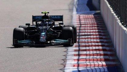 GP Russia: Bottas cambia motore e parte 17°