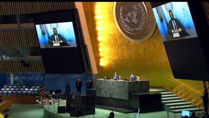 Segretario Beccari all'Onu: pandemia e emergenza clima nell'agenda sammarinese
