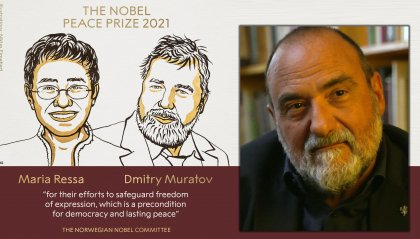 """Nobel per la pace a due giornalisti, il Dg Romeo: """"Segno di fiducia in chi fa un mestiere durissimo e bellissimo"""""""