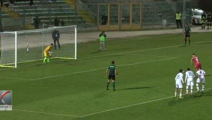 Doppio Rolfini e l'Ancona-Matelica batte 2-0 il Montevarchi