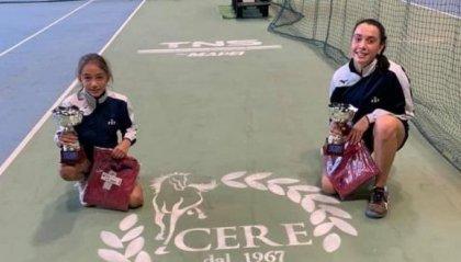 Tennis: Le giovani Pellandra e Alletti vincono a Reggio Emilia