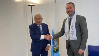Il Presidente della FICTS ricevuto questa mattina dal Segretario allo Sport Teodoro Lonfernini