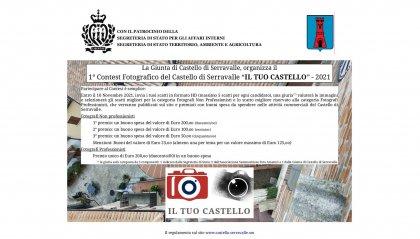 """Serravalle: ultime settimane per partecipare al Contest Fotografico """"Il tuo Castello"""""""