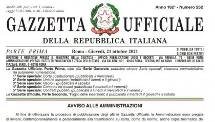 Green pass: ecco la deroga pubblicata in Gazzetta Ufficiale