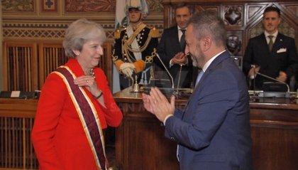 """Theresa May: """"il Regno Unito e San Marino sono solidi amici"""""""
