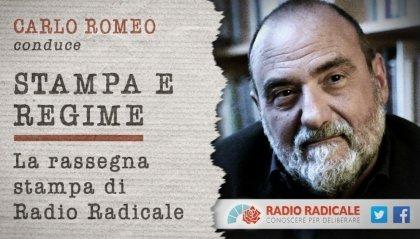 """Il Dg Romeo alla conduzione di """"Stampa e Regime"""""""
