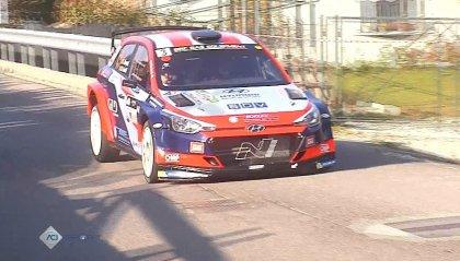 Luca Rossetti vince il rally di Como e conquista il Campionato italiano WRC.