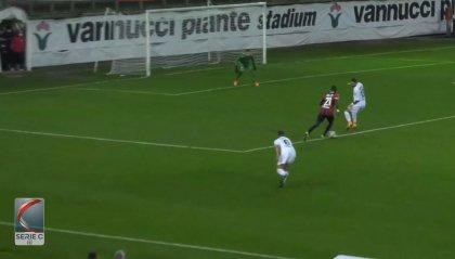 La Pistoiese lascia il fondo col 2-0 al Montevarchi
